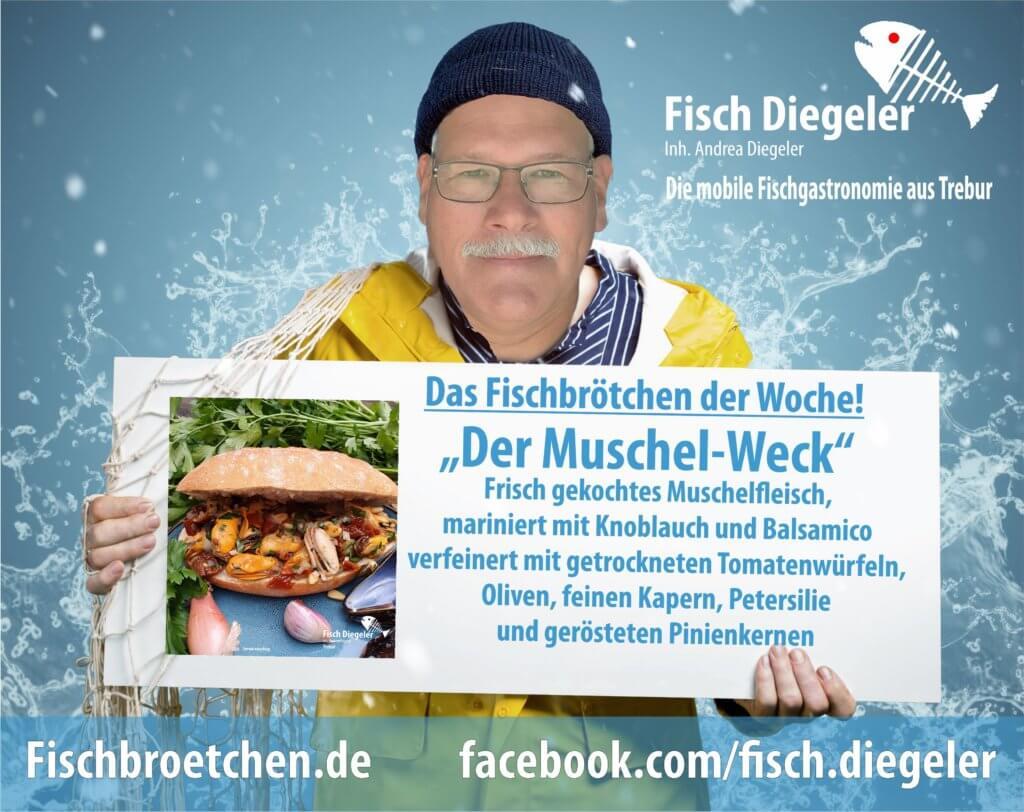 Fischbrötchen der Woche Muscheln Homepage