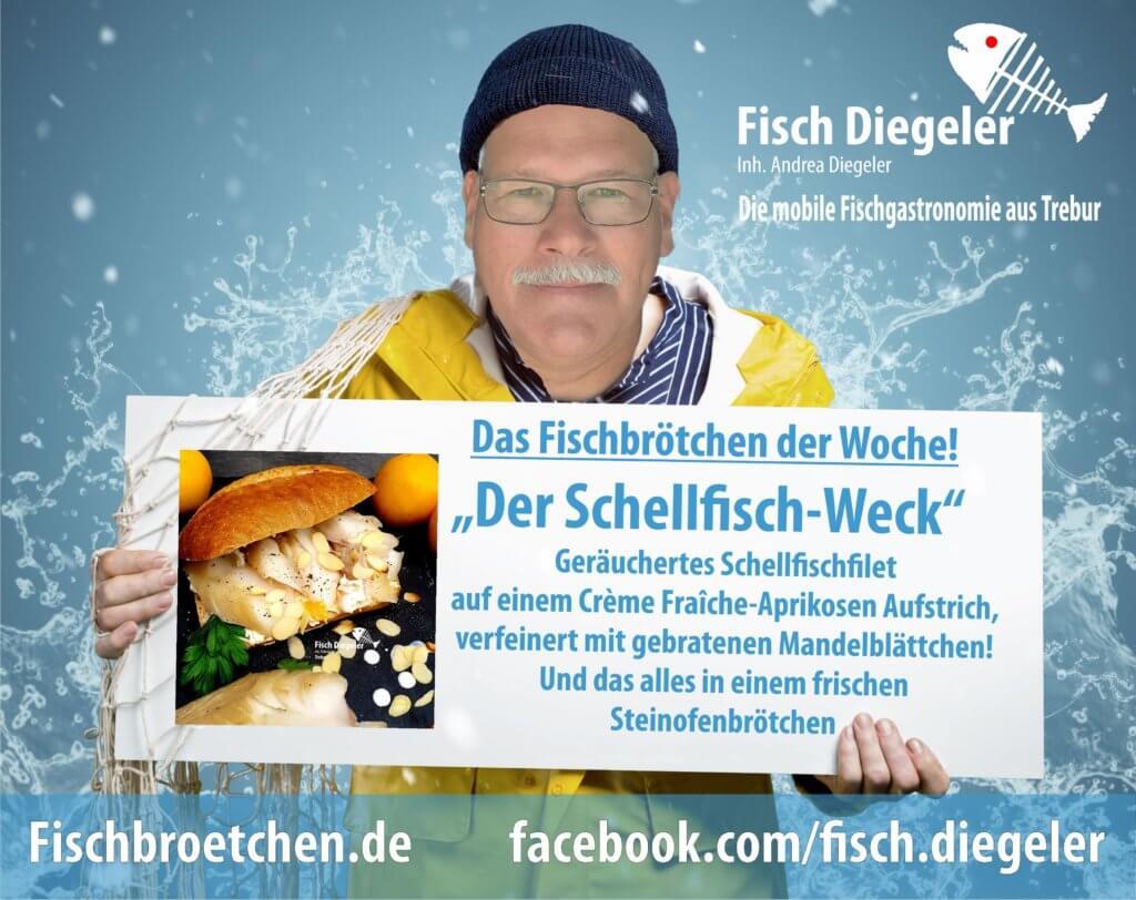 Fischbrötchen der Woche Schellfisch